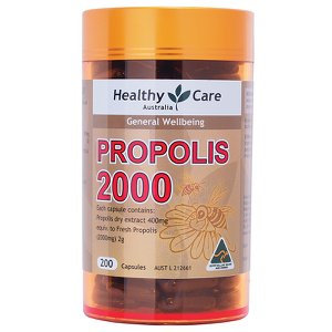 Healthy Care Propolis 2000 200Capsules 蜂膠