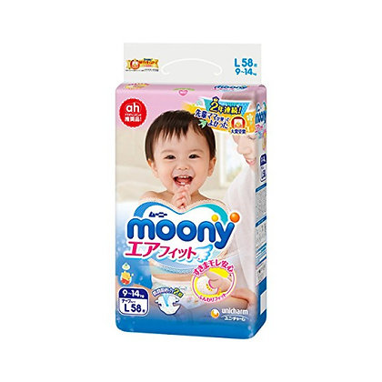 Moony 紙尿片 L 58片