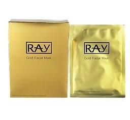 RAY 蠶絲面膜(金盒)Gold Facial Mask