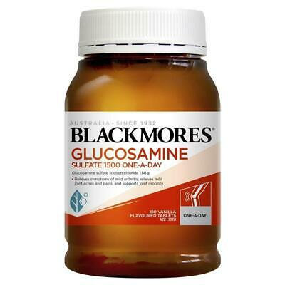 Blackmores Glucosamine Sulfate 1500 One-a-Day 180 Tablets 維骨力