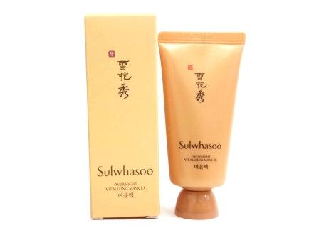 Sulwhasoo Overnight Vitalizing Treatment 30ml 雪花秀與潤面膜中樣