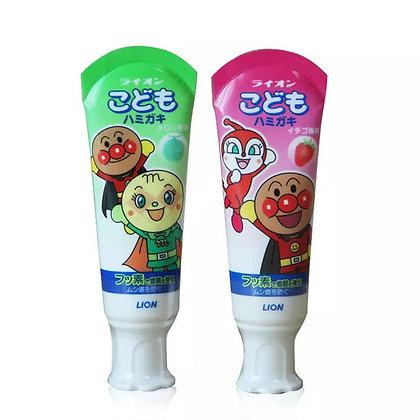 日本麵包超人牙膏 40g