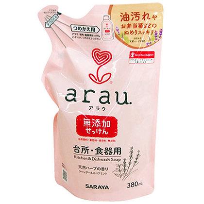 Arau 洗奶樽餐具清潔液補充裝380ml