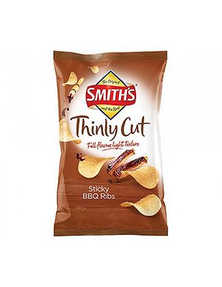 Smith's Thnly Cut Bbq Rbs 碳烤煙燻肋排口味薯片 175g