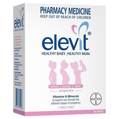Elevit愛樂維孕婦營養補充品 100粒裝
