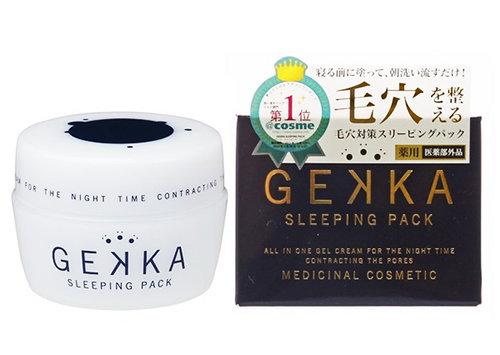 GEKKA Sleeping Pack 強力修復毛孔睡眠面膜 80g