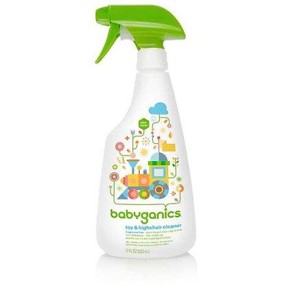BabyGanics 玩具枱椅清潔劑 - 無香味 502ML
