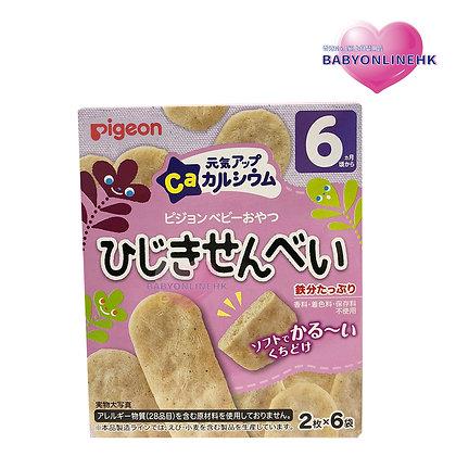 Pigeon 高鈣海藻米餅 6M+ 2枚 x 6