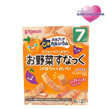 Pigeon - 7個月大起高鈣南瓜蕃薯米條