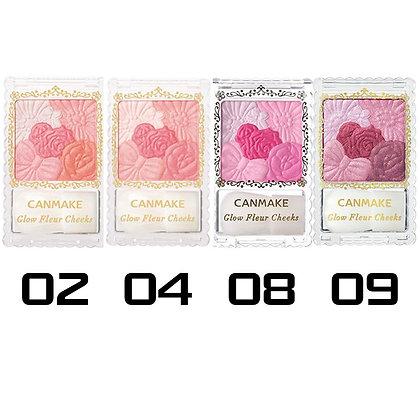 Japan Canmake Glow Fleur Cheeks #02 井田腮红
