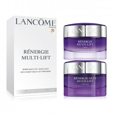 Lancome Renergie Multi-Lift Day&Night Partners 新立體塑顏緊緻日夜提拉緊膚面霜