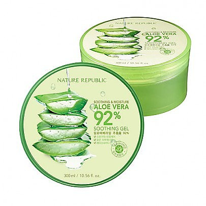 Nature Republic Aloe Vera 92% Soothing Gel 蘆薈膠