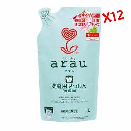 Arau天竺葵洗衣液 1L 補充裝 (12包)