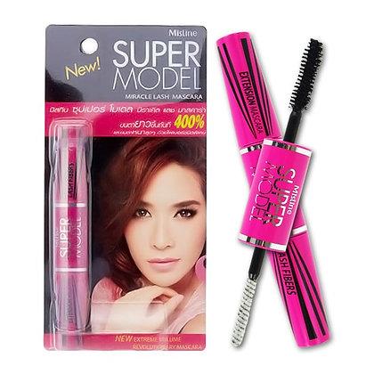 泰國 Mistine Super Model Miracle Lash Mascara 粉色睫毛膏