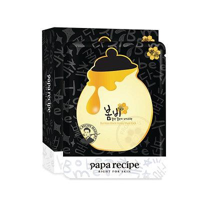 Papa Recipe Bombee Black Honey Mask Pack 黑春雨