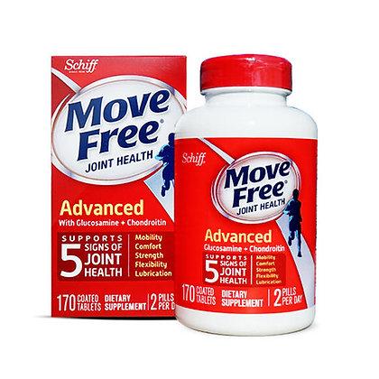 Move Free 氨基酸葡萄糖維骨力氨糖軟骨素 170粒