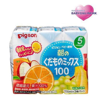 Pigeon 早餐雜果汁3包裝