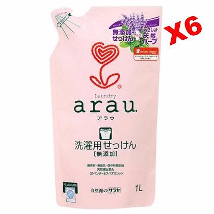 Arau薰衣草洗衣液 1L (6包)