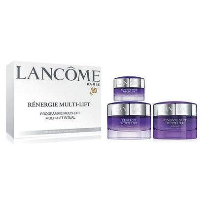 Lancome Renergie Multi-Lift Set (新立体塑颜系列 紫色3件套)