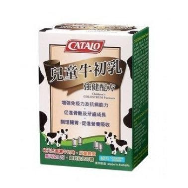 美國CATALO 兒童牛初乳強健配方 80粒