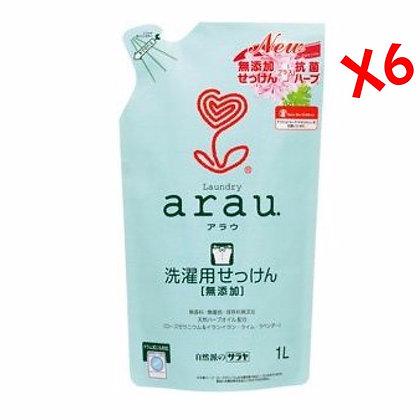 Arau天竺葵洗衣液 1L 補充裝 (6包)