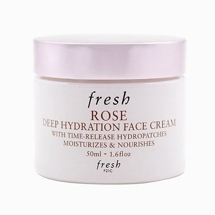 Fresh Rose Deep Hydration Face Cream 玫瑰深層保濕面霜 50ml