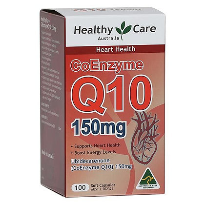 Healthy Care CoEnzyme Q10 150mg 100capsules