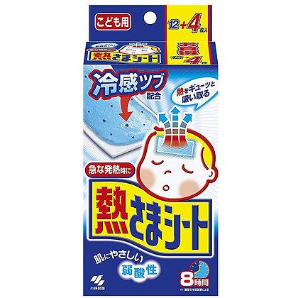 小林退熱貼 (日本內銷版)12+4片 共16片 藍色
