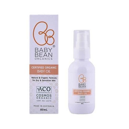 Baby Bean Organics 孕婦/嬰兒潤膚油 80ml