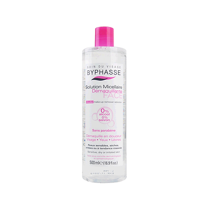 Byphasse Make Up Remover Solution 500ML 西班牙卸妝水