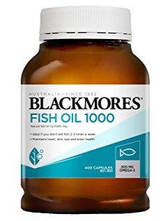BLACKMORES 原味魚油400粒