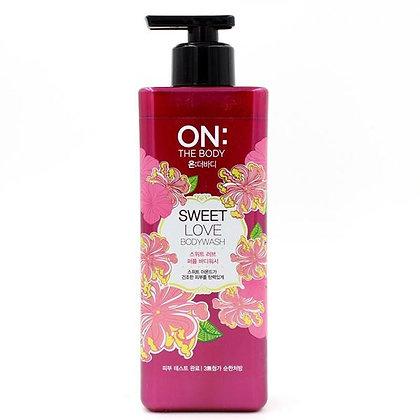 ON: The Body Sweet Love Body Wash 紅色(黑蓋)