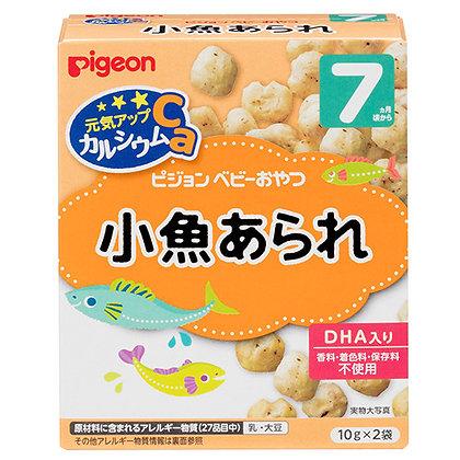Pigeon 小魚DHA波波米餅  7M+ 10g x 2
