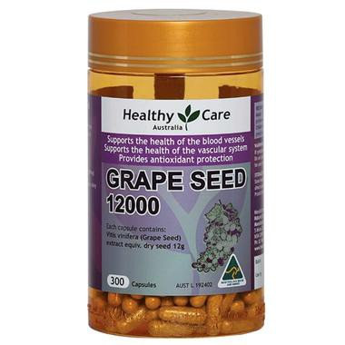 Healthy Care Grape Seed 12,000 葡萄籽 300粒