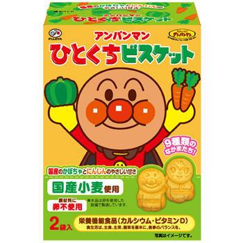 不二家幼兒麵包超人蔬果餅72g