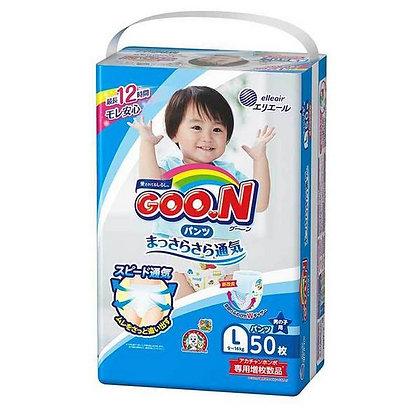 Goo.n 大王學習褲 L50片 (男/女)