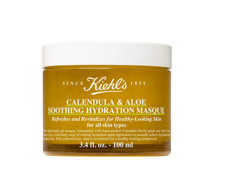 Kiehl's Calendula & Alow Soothing Hydration Masque 100ML 金盞花蘆薈鎮靜保濕凍膜