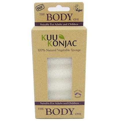 KUU蒟蒻六段波紋沐浴海綿