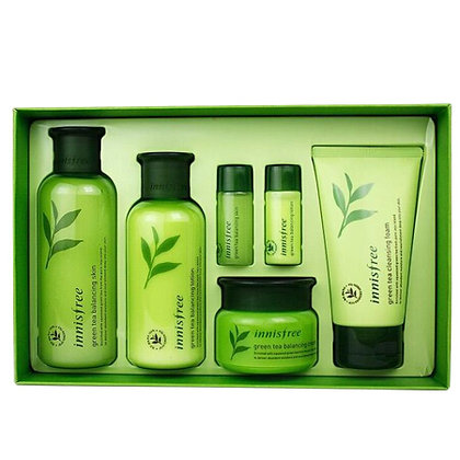 Innisfree Green Tea Balancing Special Skin Care Set 水乳霜套盒