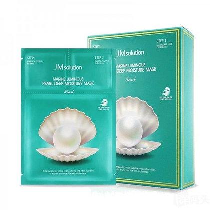 JM SOLUTION海洋珍珠深層保濕三步曲面膜Marine Luminous Peal Deep Moisture Mask