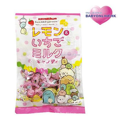 早川製菓 - 角落生物糖果80g (檸檬&草莓牛奶風味)
