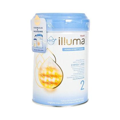 惠氏 ILLUMA 嬰兒配方奶粉 stage 2