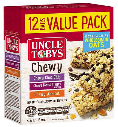 Toby Uncle 營養早餐燕麥棒 Chewy Mix 12 Pack