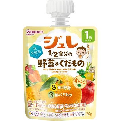 WAKODO - 蔬菜水果啫喱 70g