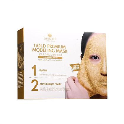 Shangpree Gold Premium Gold Premium Modeling Mask 香蒲麗黃金水光面膜