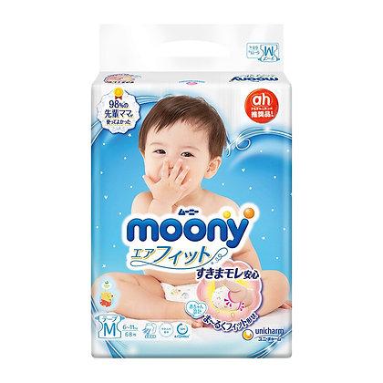 Moony 紙尿片 M 68片