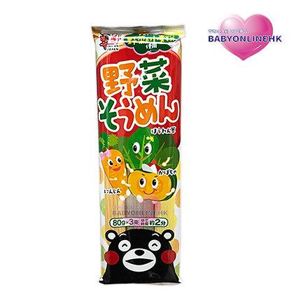五木熊本熊蔬菜麵240g
