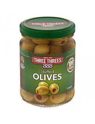 Three Threes 釀青橄欖 250g