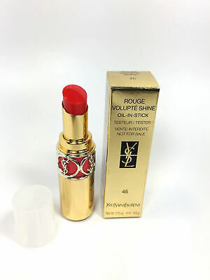 YSL Rouge Volupte Shine Oil-In-Stick #45