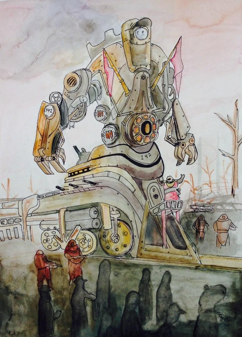 Gavin McAllister award winning steampunk